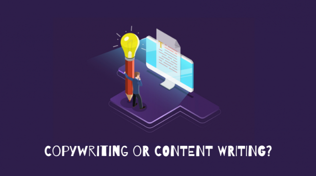It's Not the Same: Differences between a Copywriter and a Content Writer